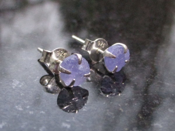 Druzy Grape Agate Sterling Silver Stacking Ring Size 7