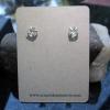 Geode Ring in Sterling Silver Size 7 Black Druzy Tabasco Geode Gemstone Jewelry