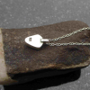Raw Blue Apatite Sterling Silver Stud Earrings Blue Gemstone Studs Minimalist Je