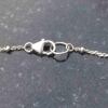 Triangle Moonstone Ring Size 6 Minimalist Sterling Silver Stacking Ring with Thi