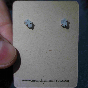Handmade Kyanite Silver Ring Size 6 Set in  925 Sterling Silver Blue Oval Stone
