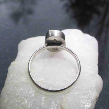 Raw Blue Apatite Earrings Studs in Sterling Silver 4 mm Small Stone Aqua Blue Crystal Gemstone Studs
